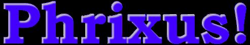 logo van Phrixus!