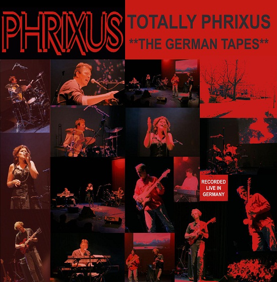 Cover of the Gerrman tapes CD of Phrixus