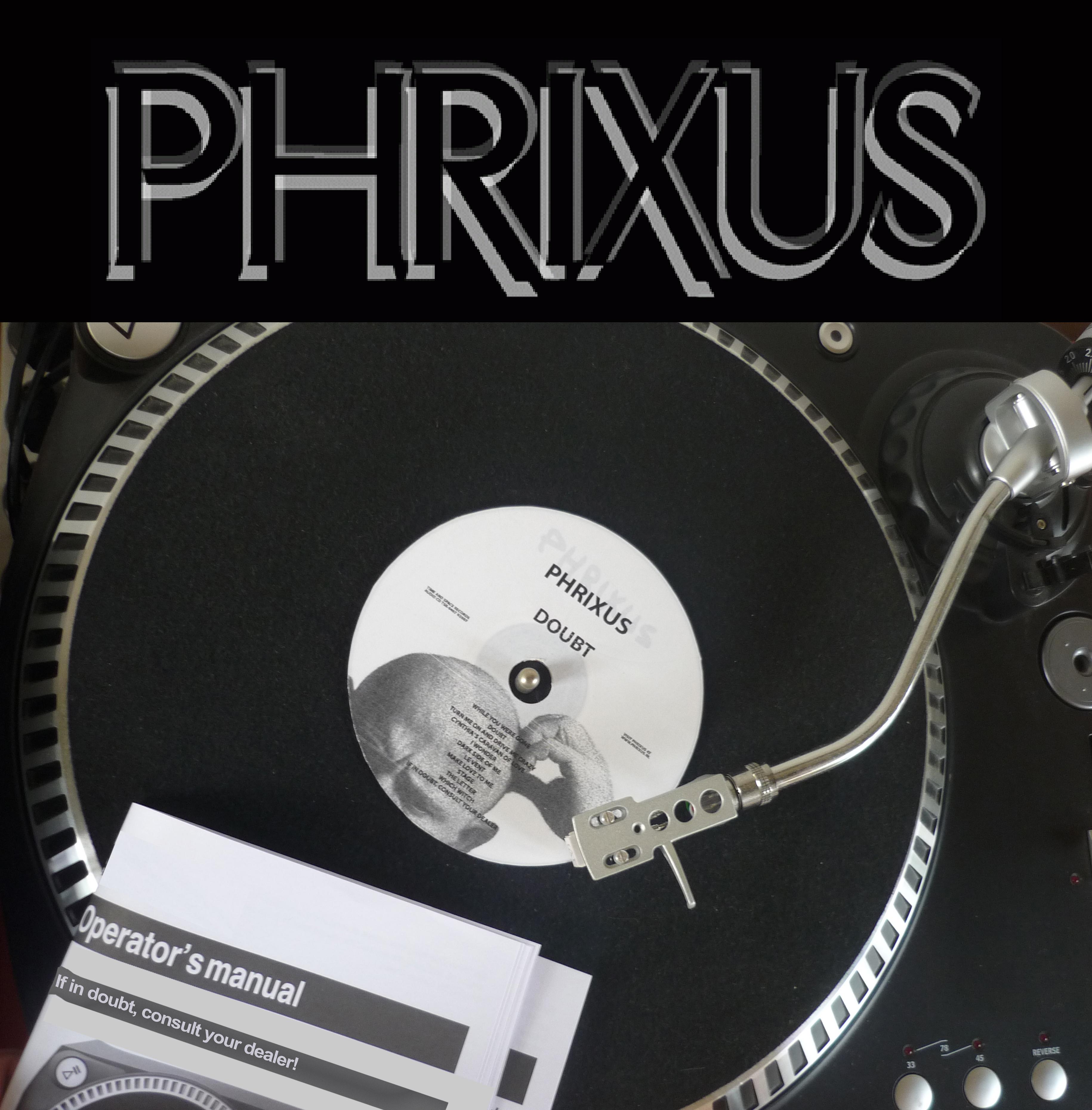 Cover van de cd Doubt van Phrixus!