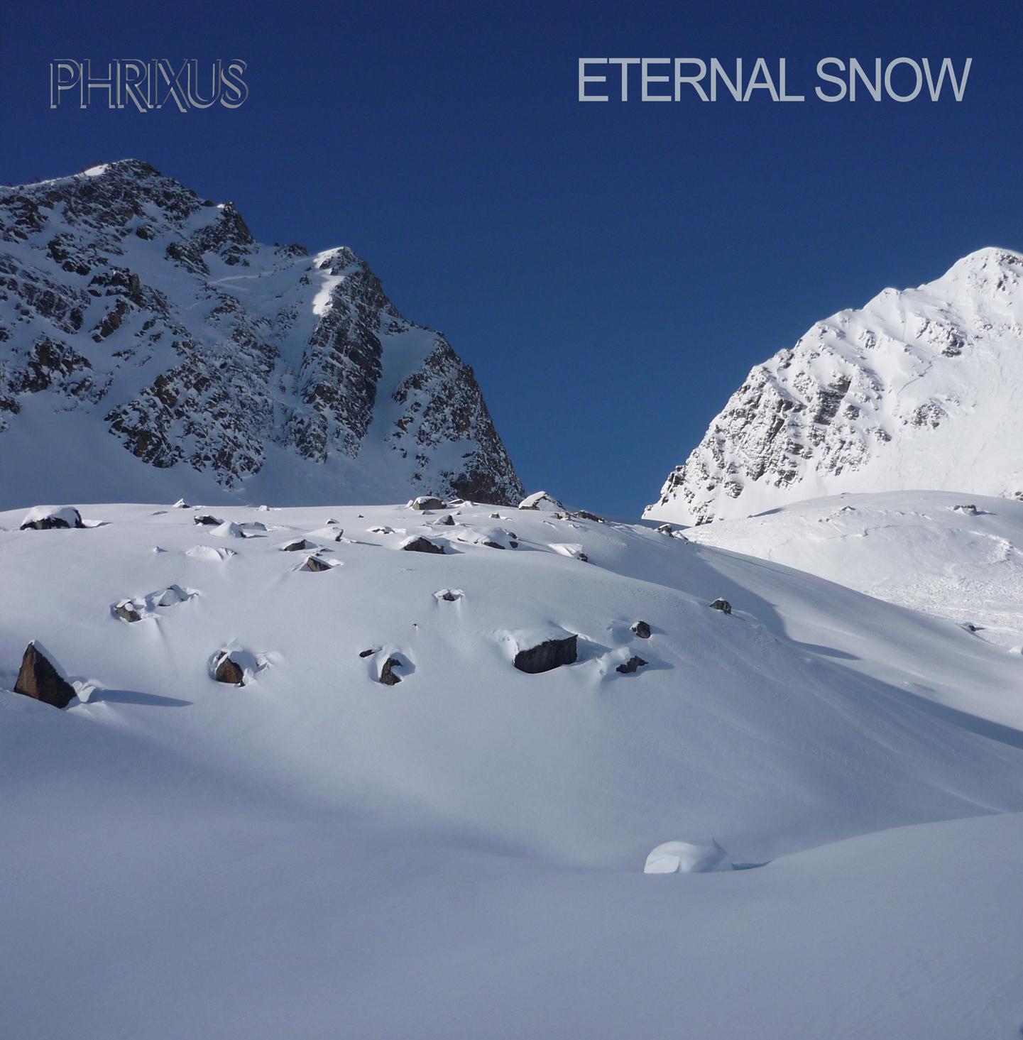 Cover van de cd Eternal Snow van Phrixus!