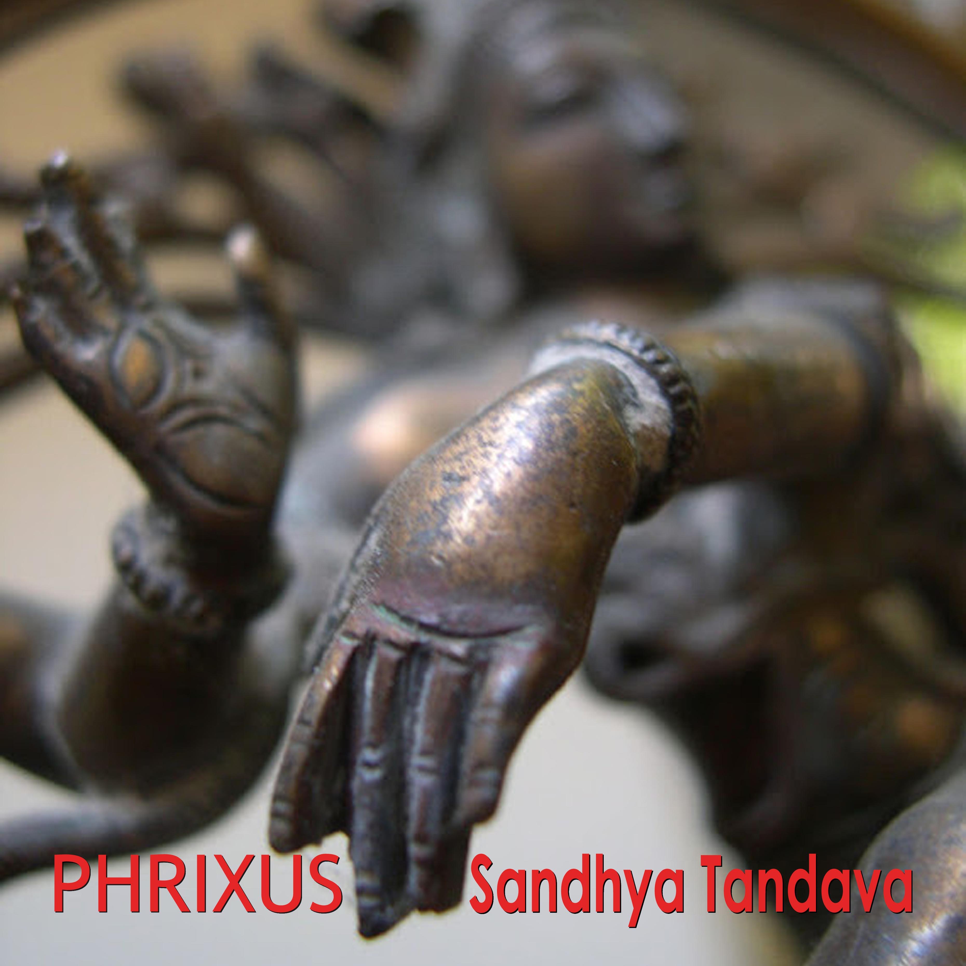 cover van de cd Sandhya Tandava van de band Phrixus!